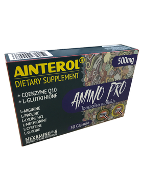 AINTEROL® Amino Pro 500mg (30caps)